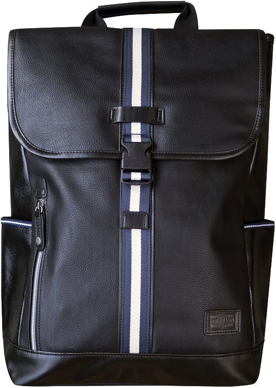Harvet Label Connect Portsman Flaptop Backpack (Black)
