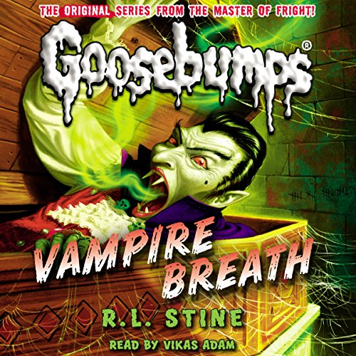 Classic Goosebumps: Vampire Breath audiobook cover art