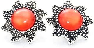 Nouveau 10pcs//lot Vintage Strass Métal Boutons pressions Fit Noosa Bracelet Collier