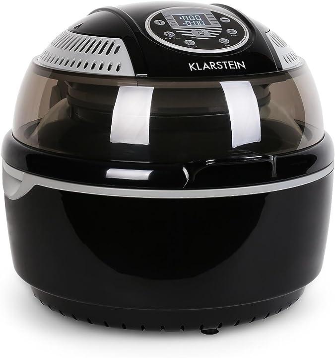 Friggitrice ad aria 1400 watt camera cottura 9 l grill tostatura klarstein vitair B01FUB5PB2