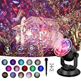 Water Wave Projector Lights Outdoor, Ocean Wave Projector LED Ripple RGB 3D Water Effect, Waterproof LED Projector Lamp Holiday Projector for Christmas Halloween Wedding Party Holiday Disco Kids Adult