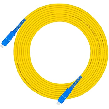 9//125 LODFIBER 200meters Outdoor Armored Singlemode 2 Strands Fiber Optic Cable ST//UPC to ST//UPC