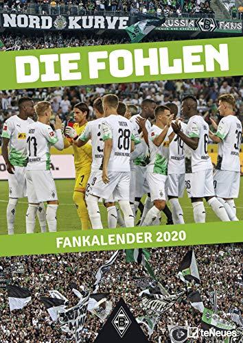 Borussia Mönchengladbach 2020 - 29,7x42cm - Fußballkalender - Wandkalender