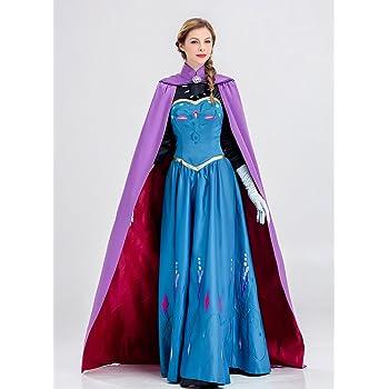 MAKE CHEERFUL アナと雪の女王 エルサ ドレス コスプレ 衣装 (S)