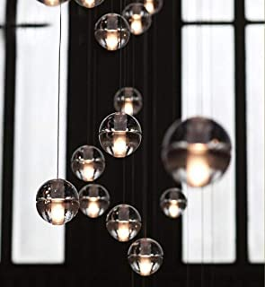 lámparas de araña de cristal Lámparas De Araña Bolas de cristal Meteorito Duchas Por Aiwen 3 luces