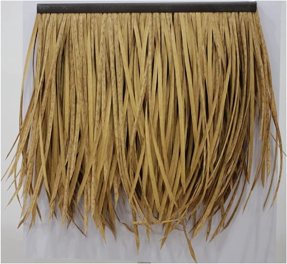 Palm Thatch Simulation Tiles Fur Plastic Fireproof Low price Max 53% OFF Straw