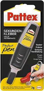 Pattex Perfect Pen, Sekundenkleber extra stark und präzise für punktgenaues Dosieren,..