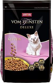 animonda Vom Feinsten Deluxe Kitten Katzenfutter, Trockenfutter für Katzen im Wachstum, mit Geflügel