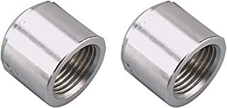 Aluminum Female 3/4 NPT Weld On Bung, 3/4