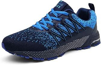 SOLLOMENSI Laufschuhe Herren Damen Sportschuhe Straßenlaufschuhe Sneaker Joggingschuhe Turnschuhe Walkingschuhe Traillauf Fitness Schuhe