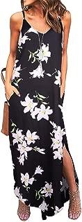 Women's Summer Casual Loose Dress Sleeveless Beach Cover...