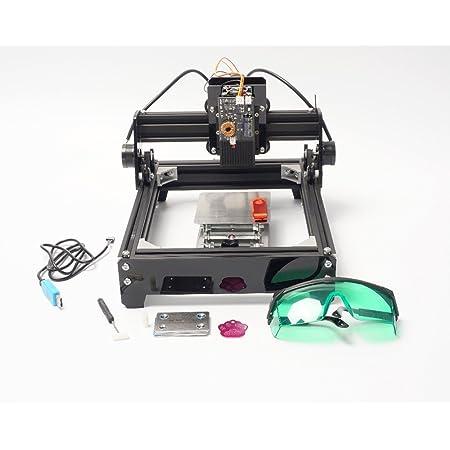 15W AS-5 USBパーソナルCNCレーザー彫刻DIY金属デスクトップスチールアイアンのためにマシンをマーキング 木材切断機- 15W Personal Desktop Laser Engraver Cutter DIY Wood Cutting Metal Marking Machine For Steel Iron
