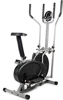 Orbitrack Multifunctional Elliptical Cross Trainer Exercise Bike-Fitness Cardio Weightloss Workout Machine
