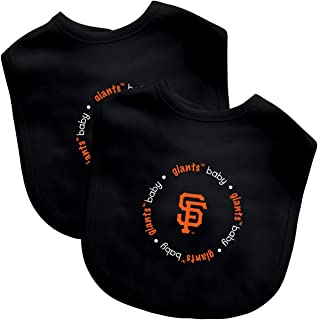 Baby Fanatic Team Color Bibs, SF Giants, 2-Count