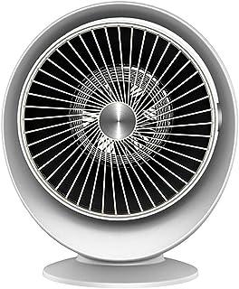 ZJZ 800W Mini Calefactor Eléctrico, Portatil Ventilador Calefactor Estufa, Calefactor Aire Frio y Caliente Oscilación Automática 360° Rotación para Hogar y Oficina