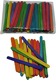 Craftbox Colored Sticks for Craft (Pack of 100)