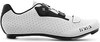 Fizik Men's R5B Uomo BOA Road Cycling Shoes - White/Black (White/Black - 38.5)