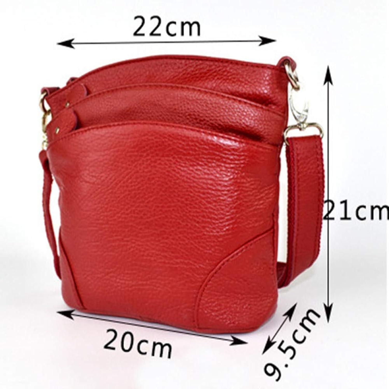 JQSM Cow Bag Handbags Women Famous Cowhide Sbody Bags for Women Messenger Bags Ladies Shoulder Tote
