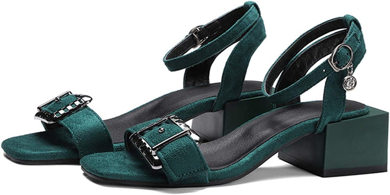 Girl21 Arrive Women Sandals Buckle Summer High Heels shoes Leisure Simple Comfortable shoes