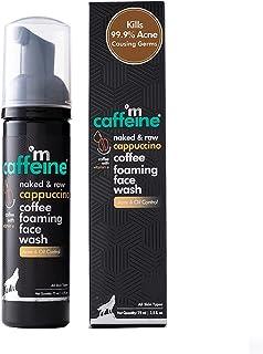 mCaffeine Cappuccino Coffee Foaming Face Wash | Kills 99.9% Acne Causing Germs | Vitamin E, Cinnamon Extracts | All Skin T...