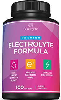 Premium Electrolyte Capsules – Support for Keto, Low Carb, Rehydration & Recovery - Electrolyte Replacement Capsules – Inc...