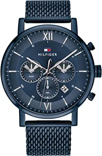 Tommy Hilfiger Mens Quartz Watch, Chronograph Display and Stainless Steel Strap 1710397