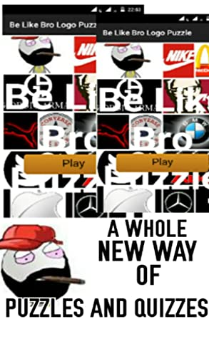 『Be Like Bro Logo Puzzle』の2枚目の画像