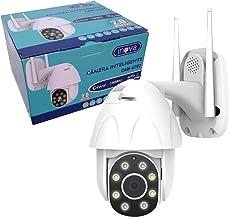 Câmera Speed dome infra IP 2 Megapixels lente 3.6mm IP66 com audío Wi-Fi PTZ Onvif Auto Traking 1080p
