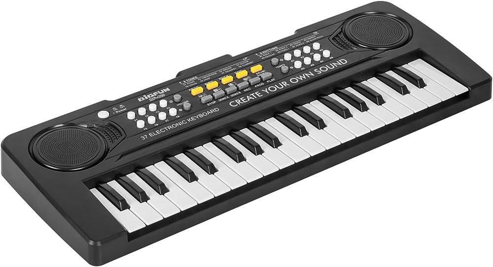 Tastiera pianoforte elettronica bambini,37 tasti