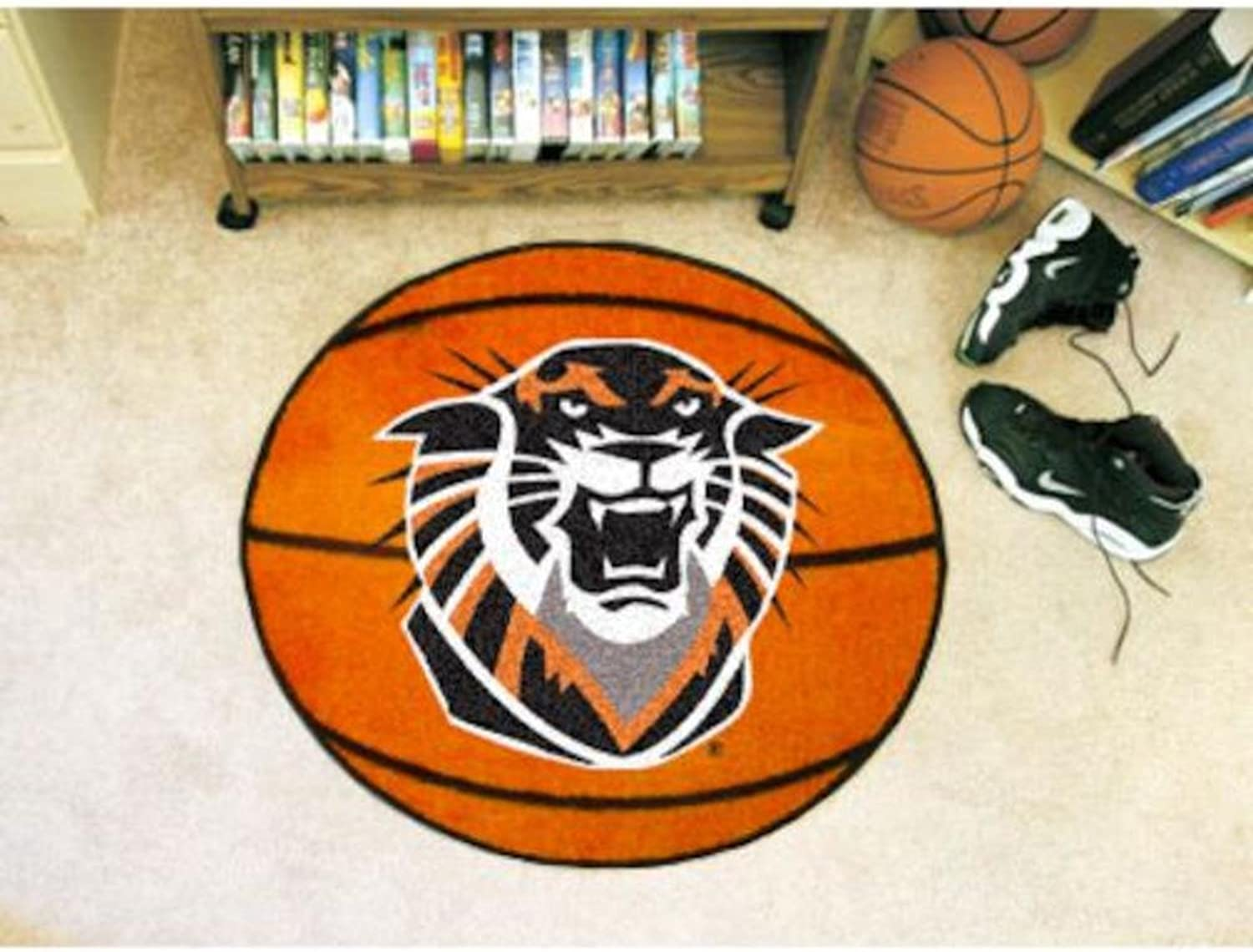Fanmats Sports Team Logo Fort Hays State University Basketball Mat