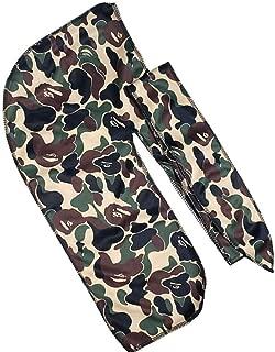 Silk Designer LV Do Rag Men Wave Cap Headwrap for Women Custom Silky Headbands