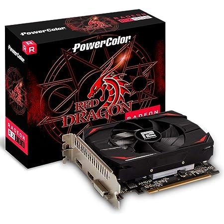 PowerColor AMD Radeon RX 550 4GB Red Dragon Graphics Card