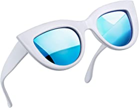 Joopin Retro Polarized Cateye Sunglasses - Women Vintage Cat Eye Sun Glasses UV400 Protection E8022