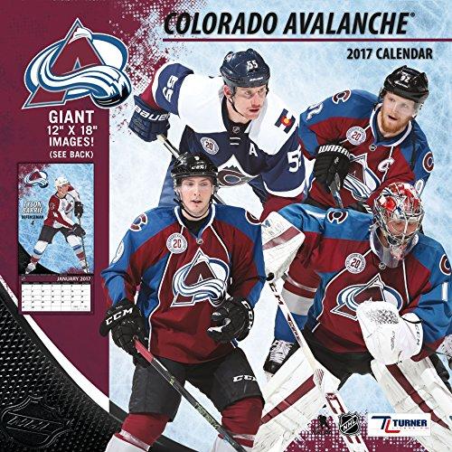 "Turner Licensing Sport 2017 Colorado Avalanche Team Wall Calendar, 12""X12"" (17998011937)"
