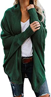 Damen Herbst Winter Cardigan Top,Women Lange ÄRmel Solid Color Casual Mantel Pullover Coat Strickjacke Tops