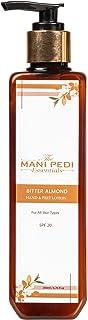 The Mani Pedi Essentials Bitter Almond Hand & Feet Lotion - 200 ml