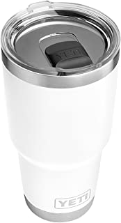 YETI Rambler 30 oz Stainless Steel Vacuum Insulated Tumbler w/MagSlider Lid, White