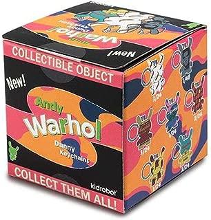 Kidrobot Andy Warhol Dunny Blind Box Vinyl Figure Keychain - One Figure