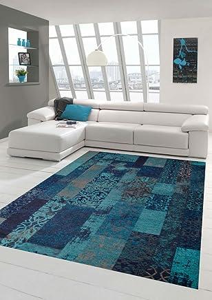 Amazon.fr : bleu canard - Tapis / Moquettes, tapis et sous-tapis ...