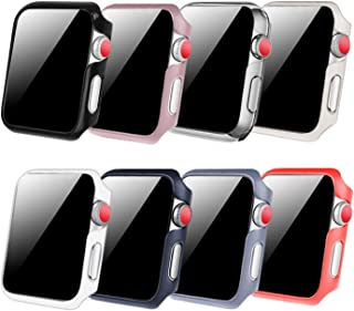[8 Color Pack] Fintie Case Compatible with Apple Watch 40mm, Slim Lightweight Hard Protective Bumper Cover Compatible with All Versions 40mm Apple Watch Series 5, Series 4