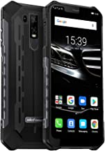 """$289 Get Ulefone Armor 6E Unlocked Cell Phones, Rugged Cell Phones Dual Sim 4G 6.2"""" FHD Android 9.0 Helio P70,64GB+4GB,NFC+ Face ID+ UV Sensor+GPS+SOS+Wireless Charge Black"""