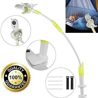 ikkle Soporte para Cámara de Bebés Soporte para monitor Flexible de Aleación de Aluminio para Guardería Soporte Universal Compatible con la mayoría de Teléfonos & Monitores de Bebés (Verde)