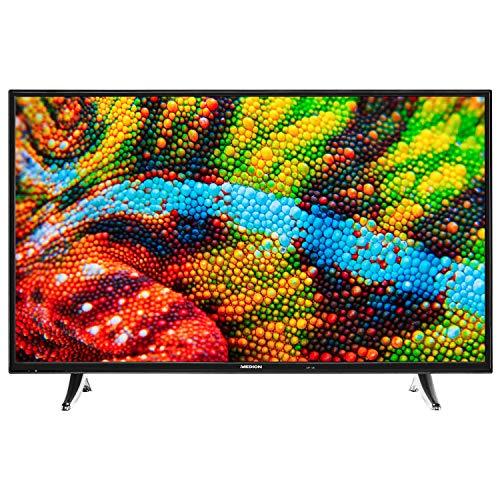 MEDION P14325 108 cm (43 Zoll) Full HD Fernseher (Smart-TV, HD Triple Tuner, DVB-T2 HD, Netflix, WLAN, DTS Sound, PVR, Bluetooth)