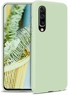CRABOT Compatible con Samsung Galaxy A70 Silicona Líquida Caso Cubierta de Goma Anti-caída Resistente a Los Arañazos Carca...