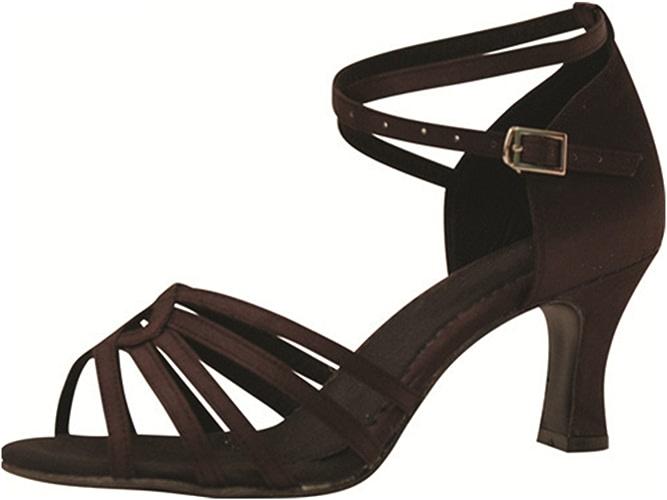 YFF Cadeaux femmes Dance danse danse latine Dance Tango chaussures 7CM,marron,33