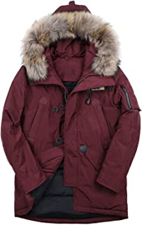 90% White Duck Men Down Jacket Men's Winter Coat Thick Warm Hoodies Fur Collar Jackets