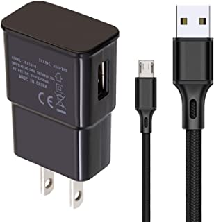 أسلاك شاحن USB متوافقة مع كابلات مزامنة بيانات الشحن Samsung Galaxy J7 Star/Galaxy J7 Crown / Galaxy A6/Galaxy J3 Orbit (ل...