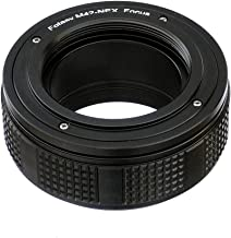 Fotasy M42 Lens to Sony E-Mount Focusing Helicoid Adapter, 42mm Screw Mount Lens to E-Mount Macro Extension Tube, fits Sony NEX-7 a3000 a3500 a5000 a5100 a6000 a6100 a6300 a6400 a6400 a6500 a6600