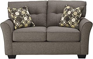 Ashley Furniture Tibbee Loveseat in Slate