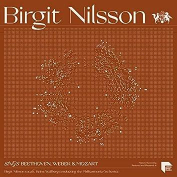 Birgit Nilsson sings Beethoven, Weber & Mozart